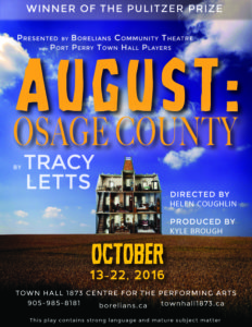 August Osage POSTER